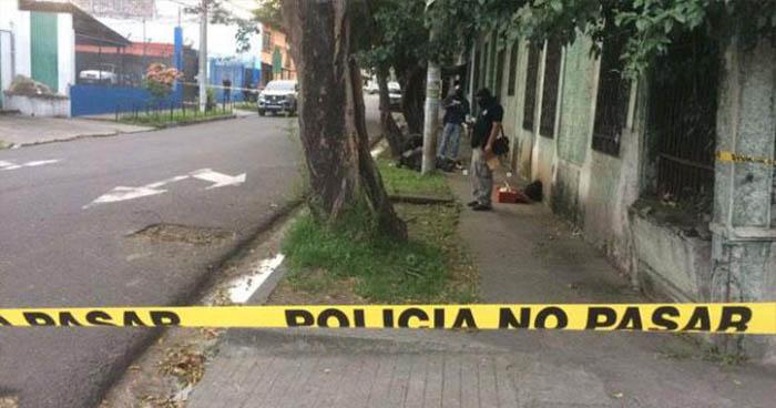 Pandilleros matan a balazos a vigilante en el centro de San Salvador
