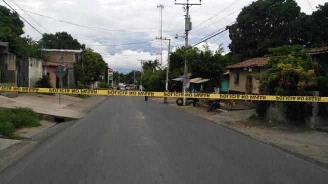 Pandillero es asesinado sobre bulevar Jacinto Castellanos de San Vicente