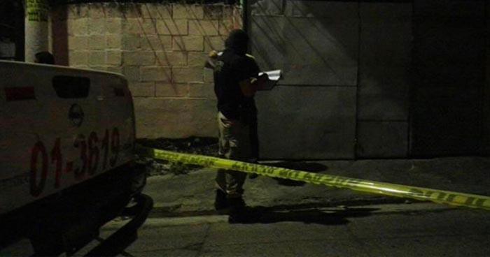 Un hombre fue asesinado en una vivienda en Tacuba, Ahuachapan