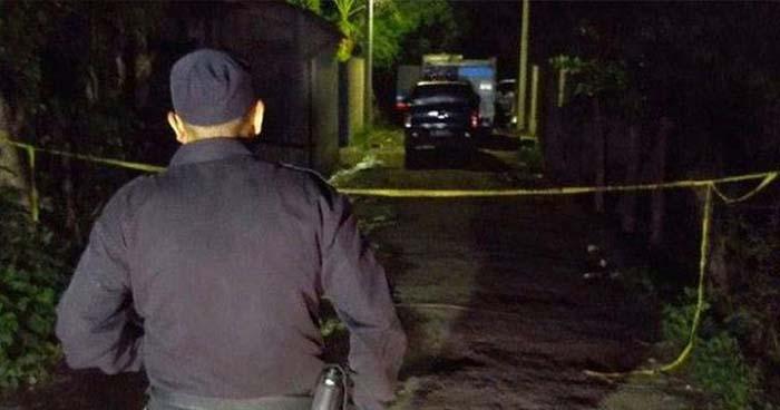 Asesinan a pandillero retirado al interior de su vivienda en Santiago Nonualco, La Paz