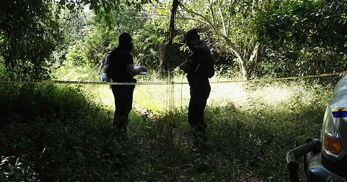 Matan a hombre al interior de una finca en Comasagua, La Libertad