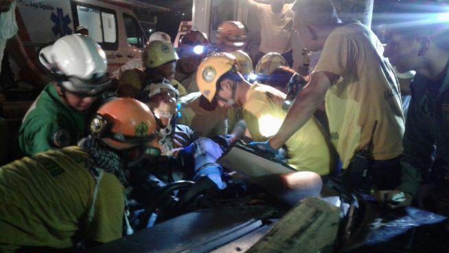 Militar se accidenta sobre el Bulevar del Ejército en Soyapango