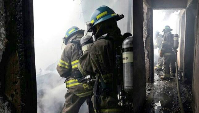 Incendio consume vivienda en colonia El Granjero de San Salvador