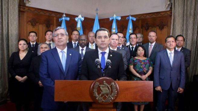 Presidente de Guatemala, Jimmy Morales suspende desfile del 15 de Septiembre