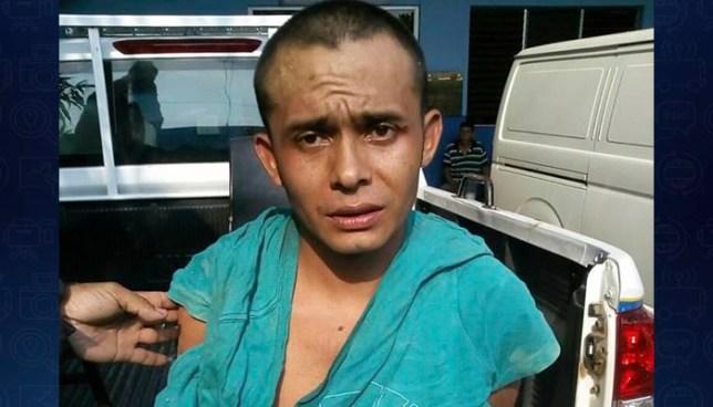 Pandillero es capturado tras enfrentarse a tiros con policías en Morazán