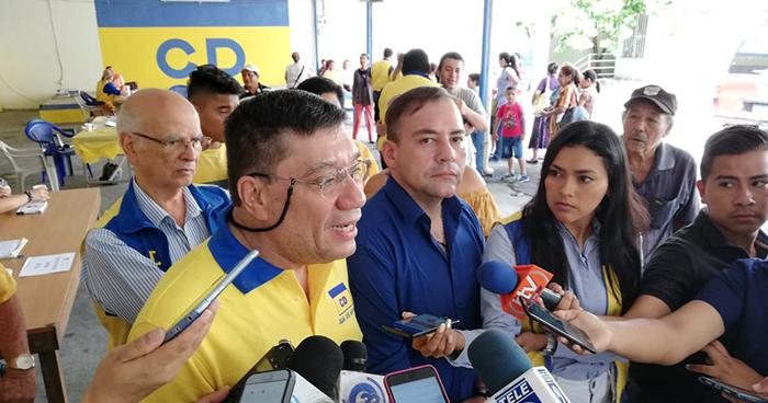Cambio Democrático realiza internas pese a haber sido cancelado por el TSE