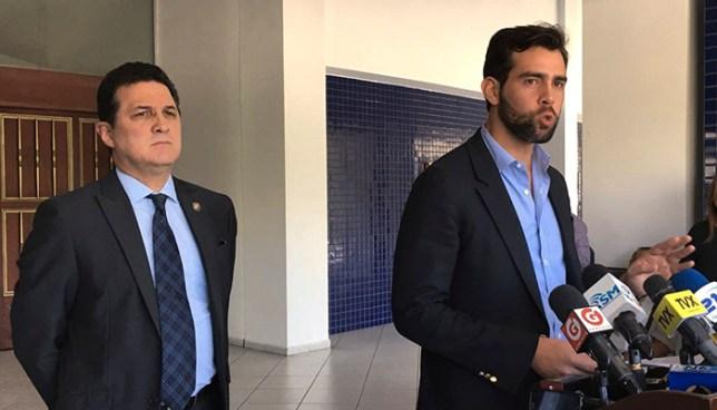 Diputados Johnny Wright y Juan Valiente anuncian la creación de nuevo partido político