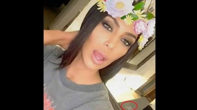 Selfie de Kim Kardashian genera rumores sobre supuesto consumo de drogas
