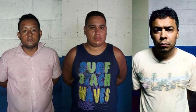 PNC captura en San Salvador a tres miembros de una banda de roba carros