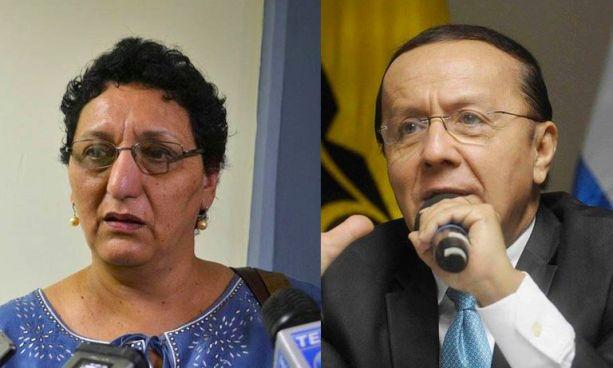 Loreña Peña confirma que Gerson Martínez será el candidato presidencial del FMLN