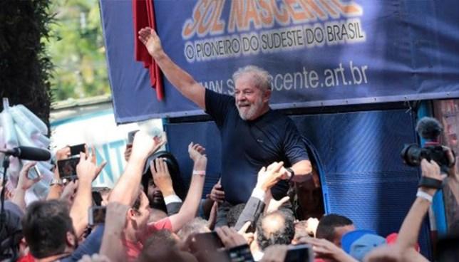 Partido de los Trabajadores ratificará candidatura presidencial de Lula da Silva