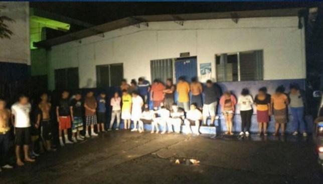 Mega operativo en el oriente del país deja la captura de más de 100 pandilleros