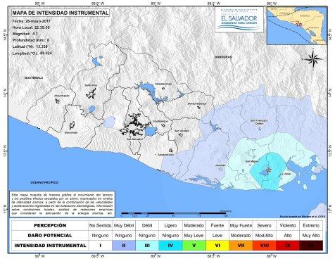 Enjambre de 12 sismos reporta MARN en La Unión
