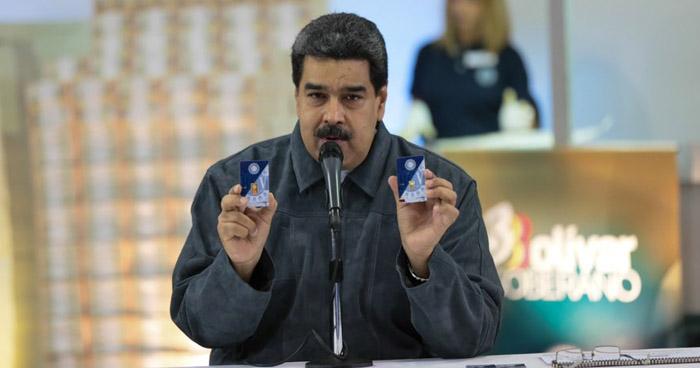 """Nicolás Maduro venderá lingotes de oro para que los venezolanos """"ahorren"""""""