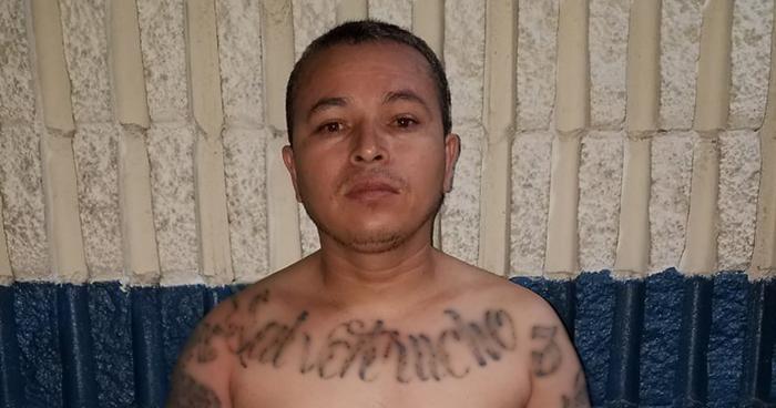 Capturan en San Martín a palabrero de la MS buscado por varios delitos