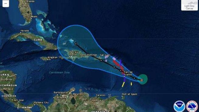 Puerto Rico y las Antillas Menores se preparan para recibir un segundo huracán
