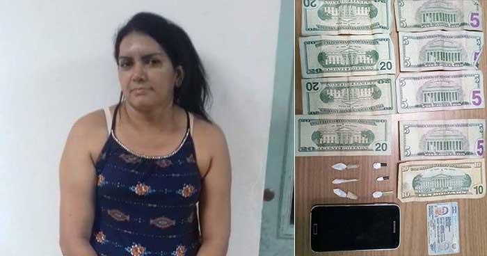 Policía captura en San Vicente a mujer que comercializaba cocaína