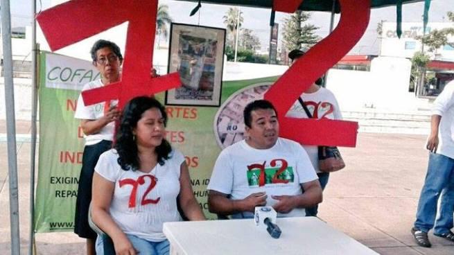 Familiares de migrantes desaparecidos conmemora masacre de Tamaulipas, México