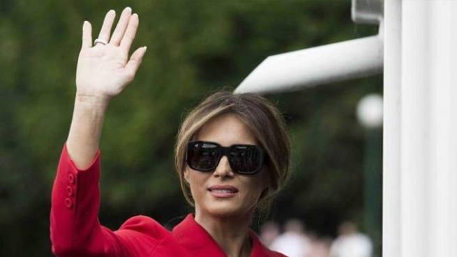 Melania Trump hará su primer viaje sola como primera dama de Estados Unidos