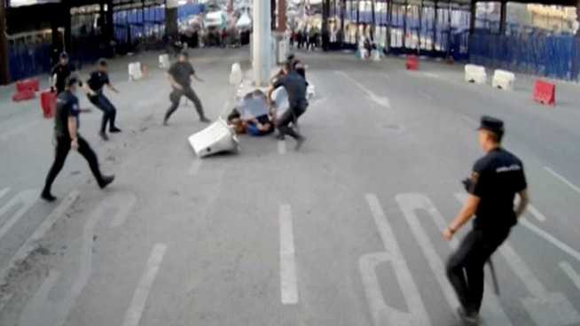 """""""Alá es grande"""" así gritaba un sujeto que hirió a un policía en España"""