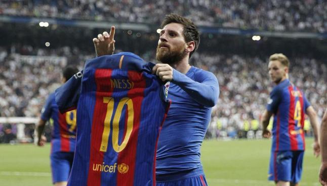 Messi es elegido como el mejor jugador de la historia de La Liga