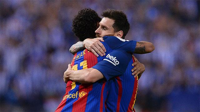Messi se despide de Neymar con un emotivo mensaje