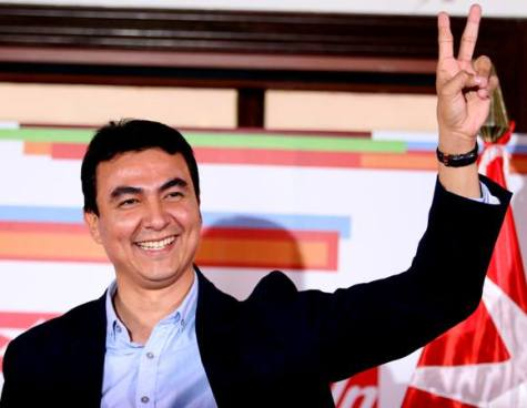 FMLN deja el camino libre a Miguel Pereira
