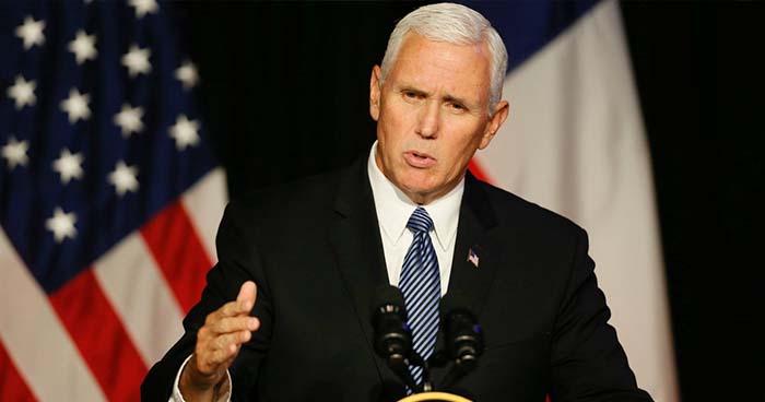 """Vicepresidente de EE.UU a centroamericanos: """"Si no tienen condiciones de entrar legalmente, no vengan"""""""