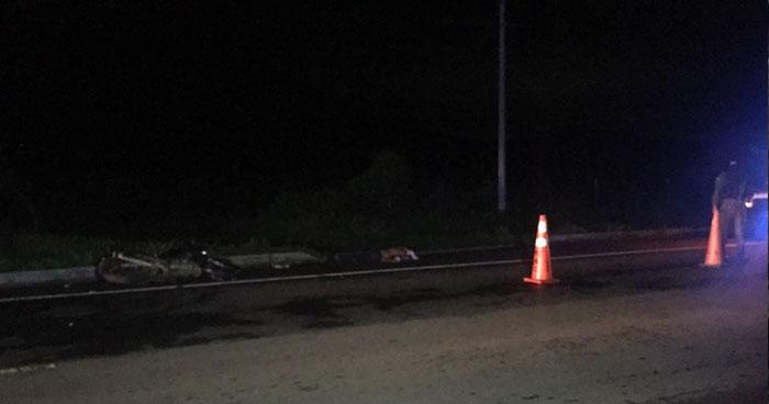 Accidente de tránsito en cantón Piedra Pacha de San Miguel deja a un fallecido y un lesionado