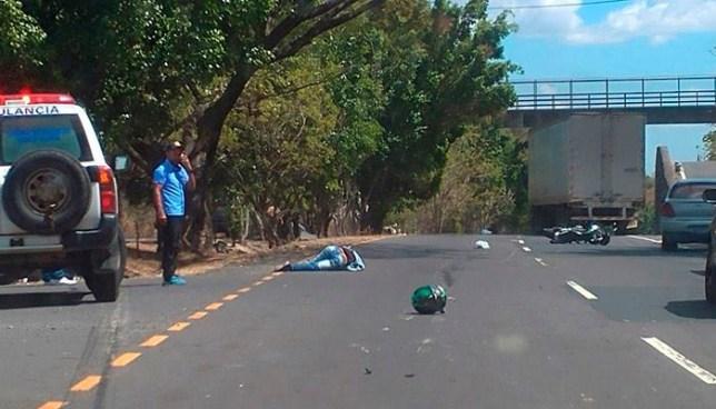Motociclista pierde la vida en un accidente de tránsito en Cojutepeque, Cuscatlán