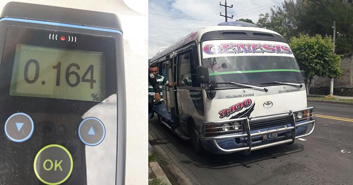 Arrestan a motorista de la ruta 100 por conducir bajo los efectos del alcohol