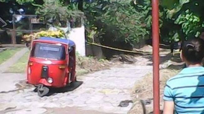 Pandilleros matan a balazos a un mototaxista en Intipucá, La Unión