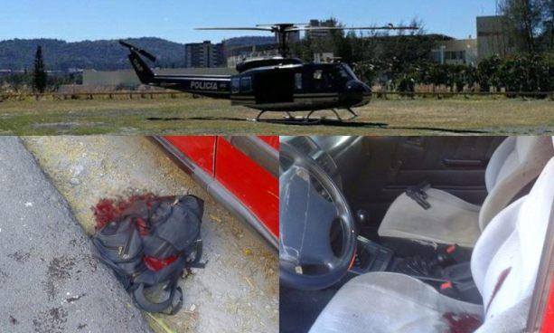 Fallece agente de la PNC que se disparó luego de lesionar de bala a su pareja