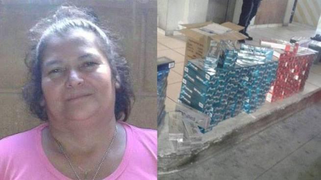 Capturan a mujer con más de 360 paquetes de cigarros no autorizados en mercado de Santa Tecla