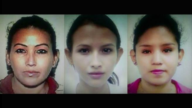 Madre e hijas capturadas por intentar asesinar a una mujer en una pupusería de Soyapango
