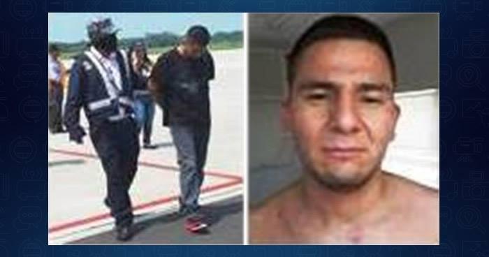 Interpol arresta por los delitos de extorsión y homicidio a pandillero deportado