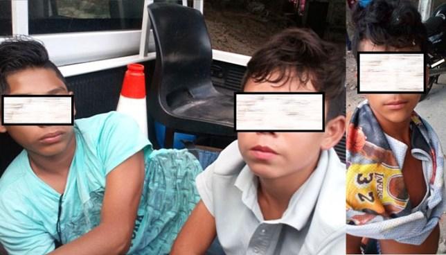 Niños fueron capturados cuando ayudaban a un pandillero a esconder dos cadáveres