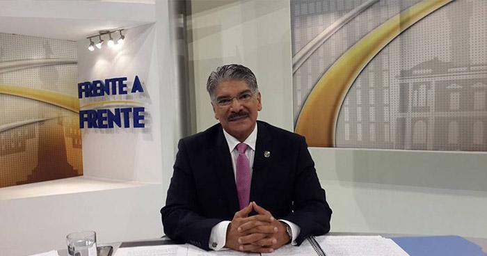"""Norman Quijano sobre disturbios de ayer en la Asamblea Legislativa: """"Esto ya está en manos de las autoridades, ya se puso la denuncia a la Policía y a la Fiscalía"""""""