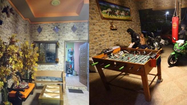 Allanan lujosa casa de financista de la MS en Santa Ana