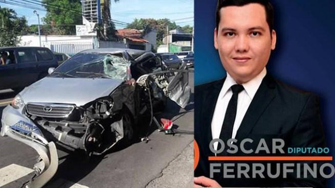 Muere candidato a Diputado por el Partido Gana en grave accidente de transito en San Miguel