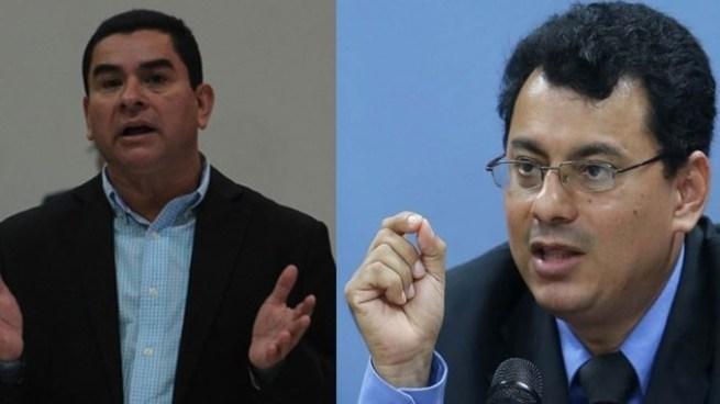 """Secretario general de FPS rompe protocolo en TSE y Olivo dice que """"solo quiso ganar sus 5 minutos de fama"""""""
