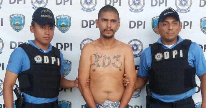 Capturan en Honduras a pandillero salvadoreño acusado de matar a dos mujeres y raptar al bebé de una de ellas