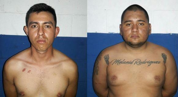 Dos hombres capturados por tenencia ilegal de arma
