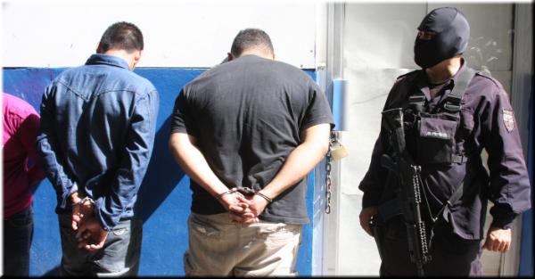 PNC reporta cuatro capturas en diferentes puntos del país