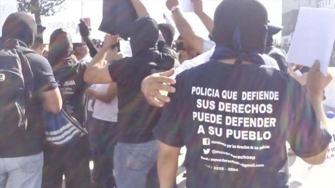 """Marcha de policías pretende hacer """"temblar las calles"""" el próximo 28 de julio"""