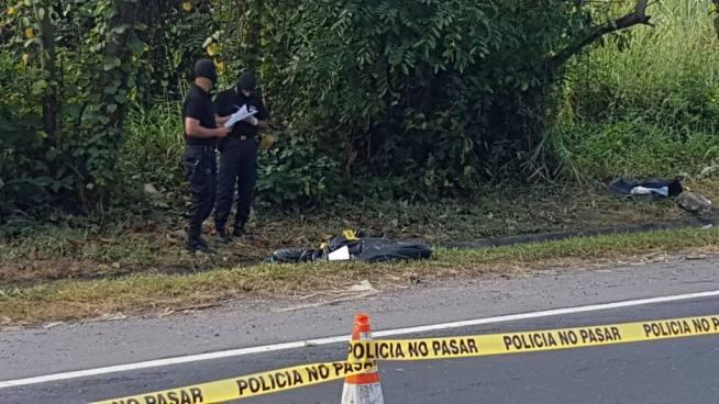 Encuentran dos cadáveres en carretera que conduce de Nuevo Cuscatlán a Huizúcar
