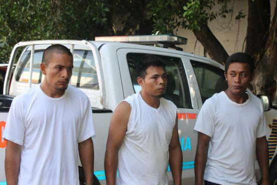 Capturan a 5 hombres entre ellos dos menores de edad por extorsión