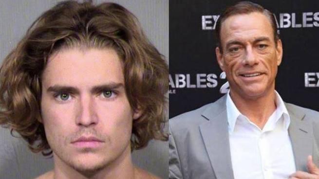 Arrestan a hijo de Jean-Claude Van Damme por amenazas a con arma blanca