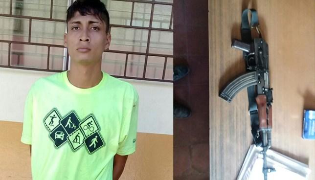 Caen sujetos que portaban armas de fuego de forma ilegal en distintos puntos del país