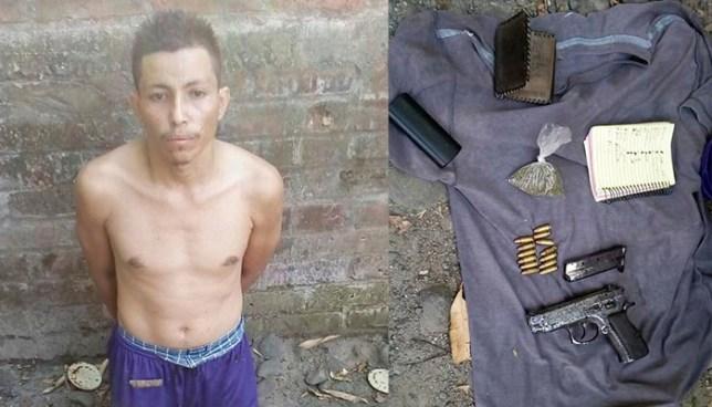 Cae en San Rafael Obrajuelo extorsionista que portaba un arma y una libreta de control de víctimas